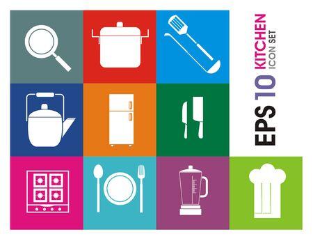 knive: kitchen icon set