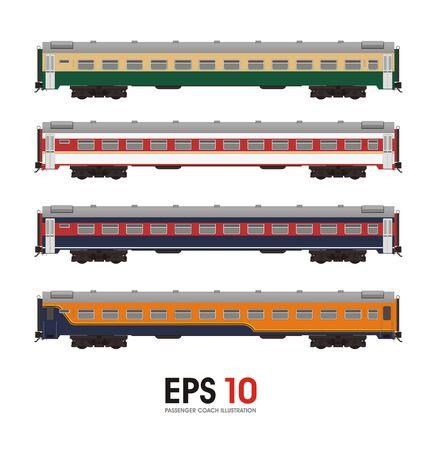 the passenger: passenger coach illustration