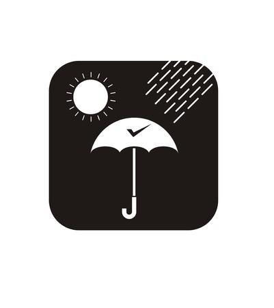 waterproof simple icon