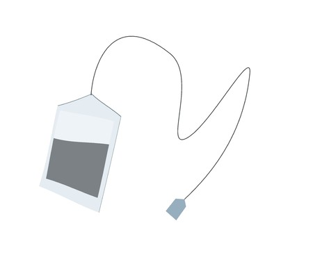teabag: teabag simple illustration