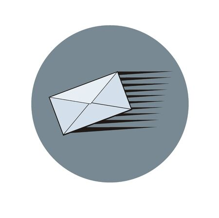 fast mail simple icon