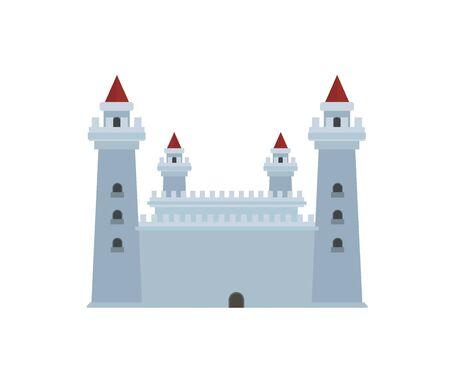 citadel: fortress simple illustration