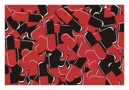 capsule: capsule stack illustration