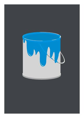 paint can: paint can simple illustration