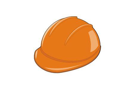 machinist: helmet worker simple illustration