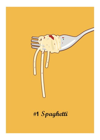 mee: spaghetti and the fork