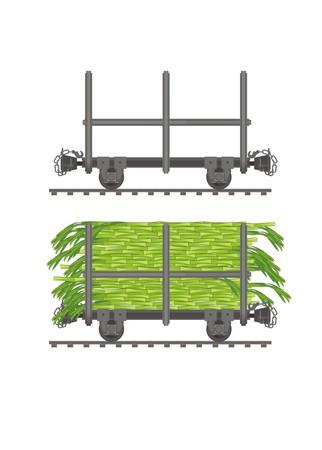 sugar cane wagon
