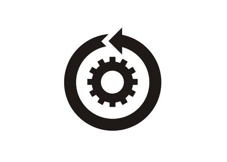 continue verbetering eenvoudig pictogram