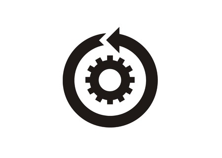continuous improvement simple icon