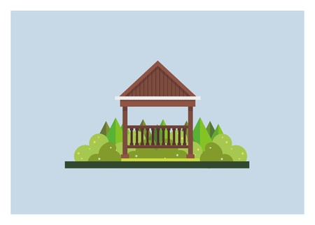 gazebo simple illustration