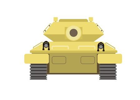 tank simple illustration