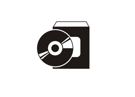 software pack simple icon Illustration