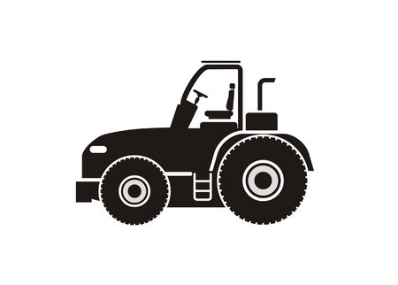 tractor simple icon