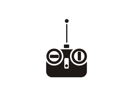 speelgoed afstandsbediening eenvoudig pictogram Vector illustratie.