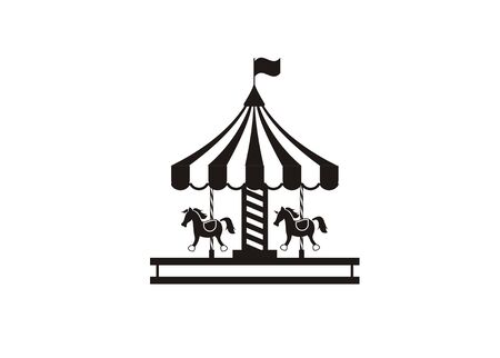 carousel simple illustration