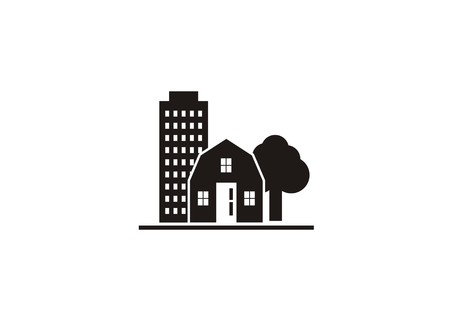 property simple icon Ilustrace