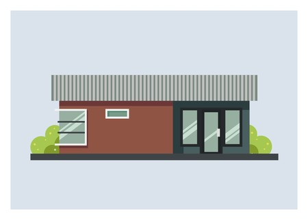 multifunction building for house, office, or shop, etc.