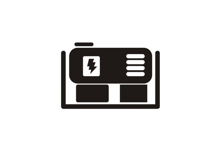 generator simple icon Stok Fotoğraf - 106834350