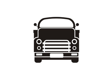 old truck simple icon