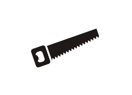 sawcutting tool simple icon