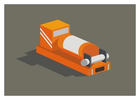airplane black box simple illustration