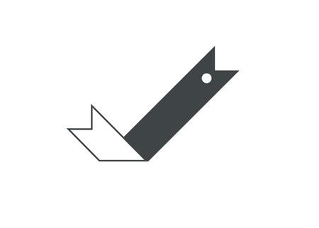 bookmark ribbon simple icon