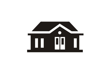 houseproperty simple icon Ilustrace