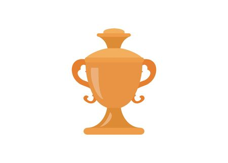 Champion cup, simple flat icon