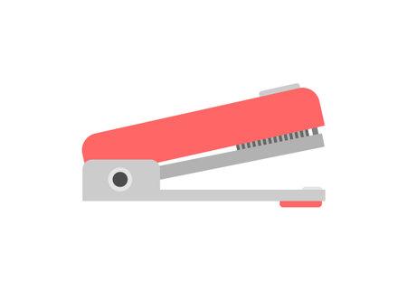 Stapler tool. Simple flat illustration