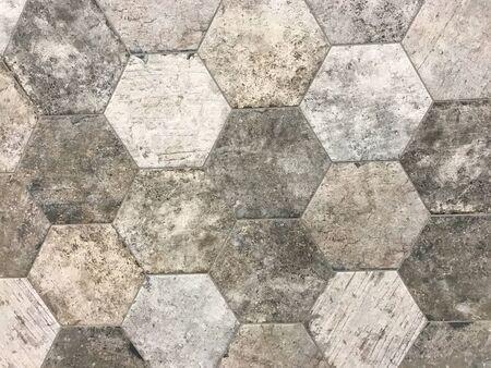aging: Stone tiles floor background, wallpaper