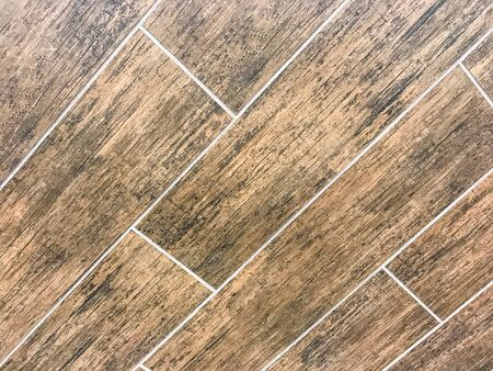 old brick wall: Tiled floor wood texture background