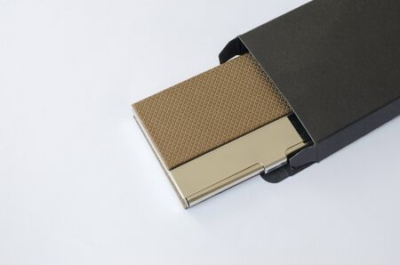 card holder: Business Card Holder in box