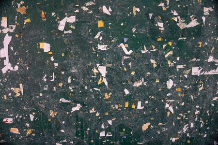 green board: Old green board Stock Photo