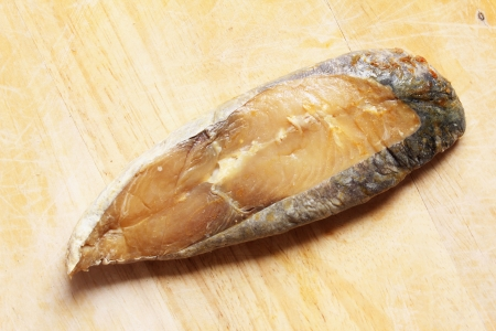 a piece of salted fish