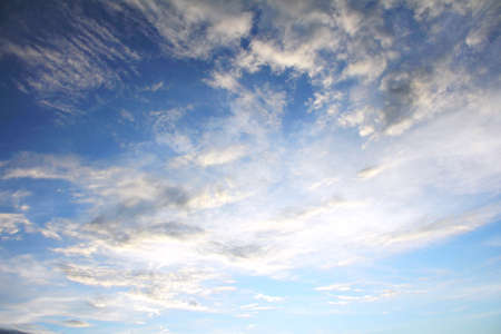 nebulous: blue sky and clouds