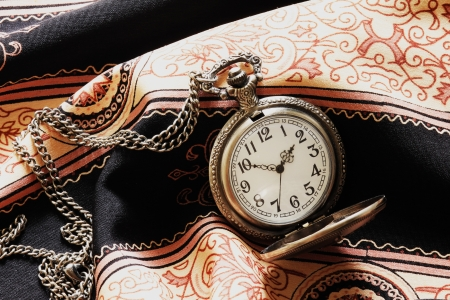 a classic pocket watch photo