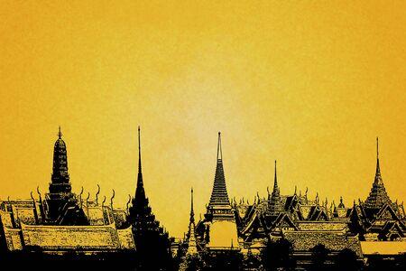 grand palace,Bangkok Thailand Stock Photo