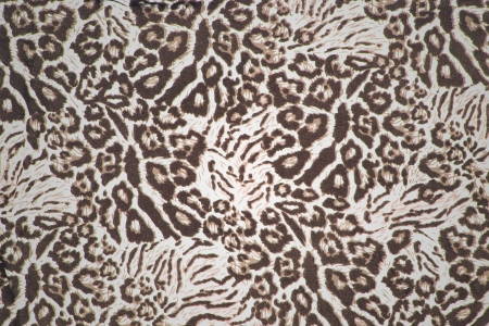 leopard fur pattern cloth Stock Photo - 15192977