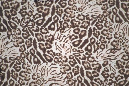 leopard fur pattern cloth
