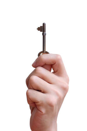 a key in hand photo
