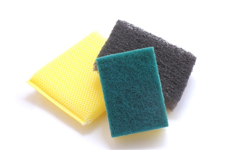 sponge and scrub Stock Photo - 15988930