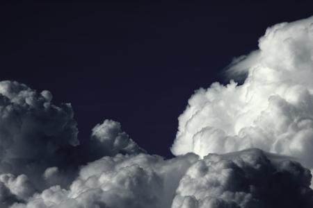 cloudy sky: cloudy dark sky Stock Photo