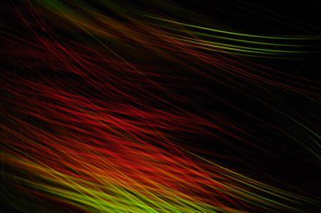 luz roja: movimiento en la pintura de luz roja