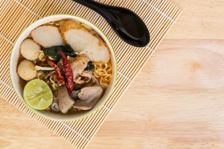 thailand food: Tom Yum Noodle : Thai Food
