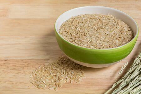 jasmine rice: Jasmine Rice, Brown