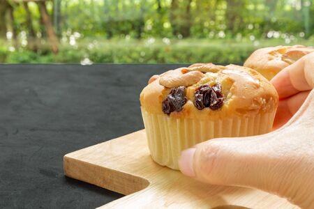 tea break: Muffin for Tea Break Background