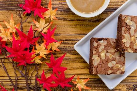 a dessert: Dessert for Coffee Background. Dessert for Coffee. Chocolate Dessert for Coffee Background
