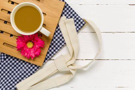 romantyczny: Romantyczny Coffee Cup Tło