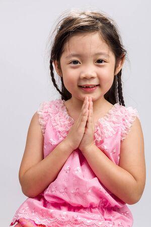 thai: Thai Welcome Greeting Sawasdee Background