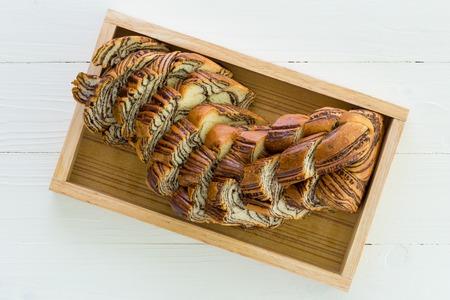 tea break: Bread for Tea Break Background